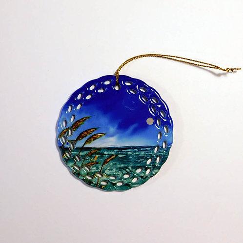 Sea Oats Ornament