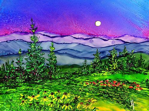Blue Ridge Mountains Original Painting