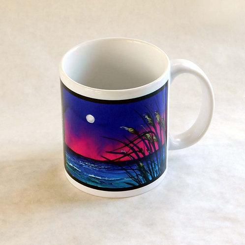 Moonlight Sea Oats Mug