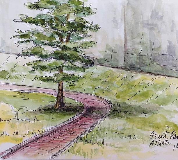 grant park sketch