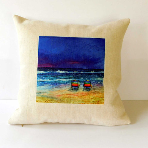 Beach Chairs Pillow