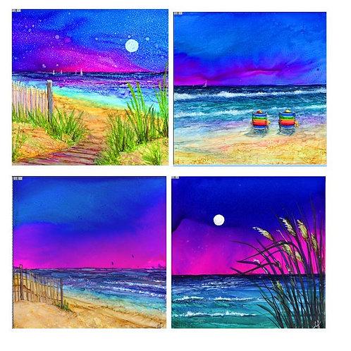 Life is a Beach Coaster Set