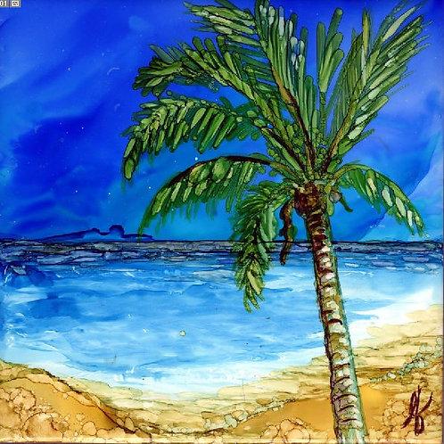 Palm Tree- right Trivet