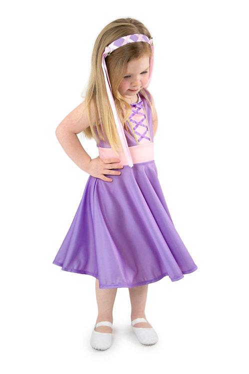 Rapunzel Twirl Dress by Little Adventures