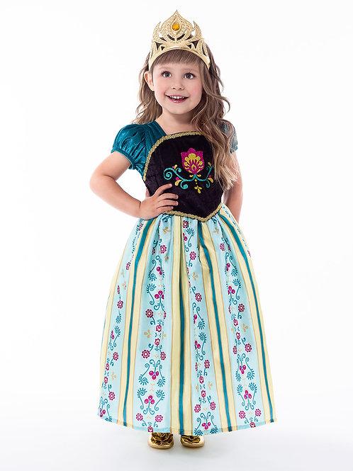 Scandinavian Princess Coronation Dress by Little Adventures