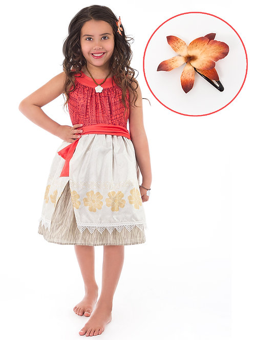 Polynesian Princess with Hairclip by Little Adventures
