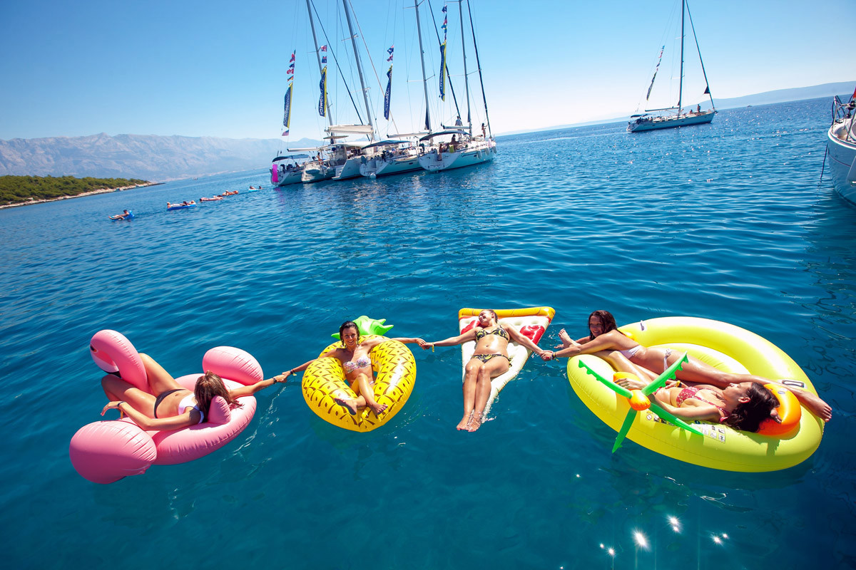 Floaties on Deck!