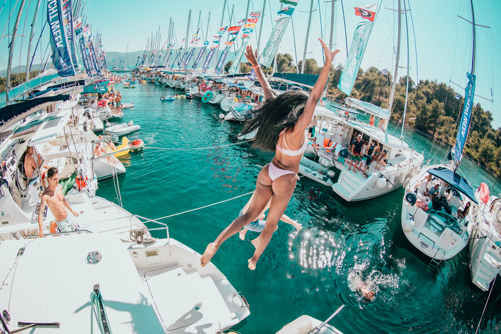 Boat Party, bring a swimsuit or four!