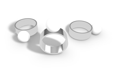 Early chunky ring design