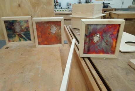Frame construction in the workshop