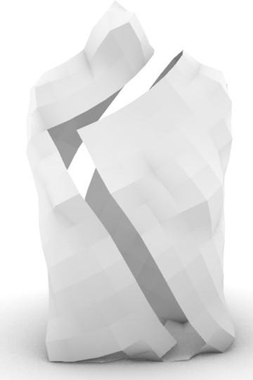 Rendered & split torso