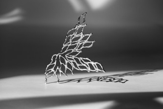 Fragment 2 realised in silver