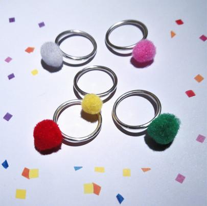 Real rings, terrible photo.