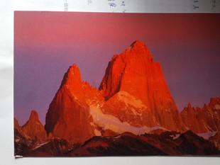 Patagoniaの絵葉書