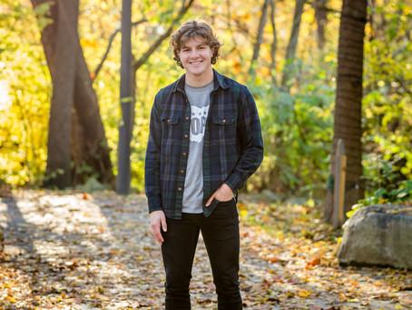 Fall Senior Photography Inspiration in Columbus, Ohio