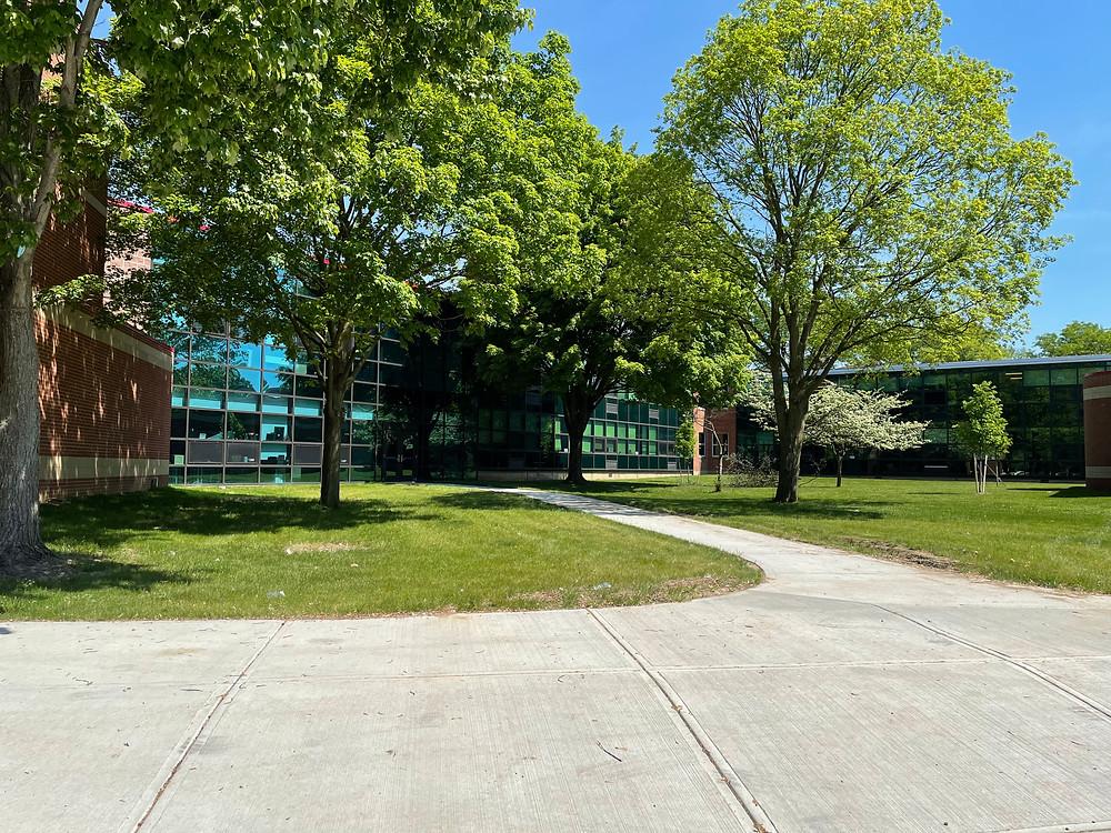 Westerville South HS senior photo location