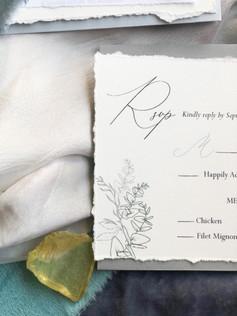 SIAN KA'AN ( rsvp reply card)