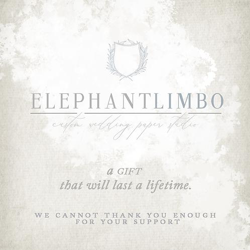 Elephant Limbo Gift Card