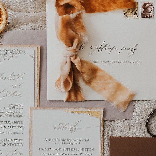 Printed Guest Addresses