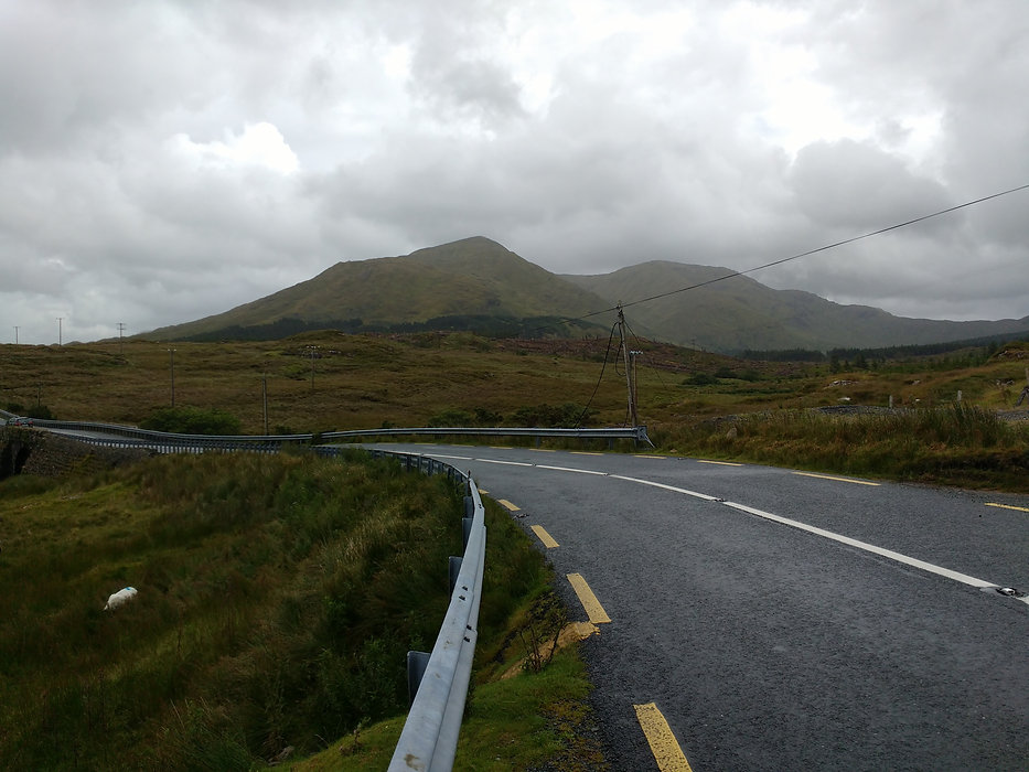 A road in Connemara