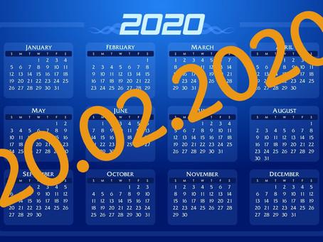 20.Ø2.2020 - Der Ultimative Datums-Guide