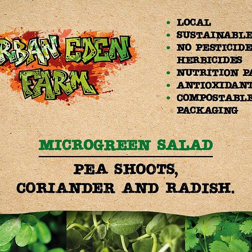 Micro mixed salad