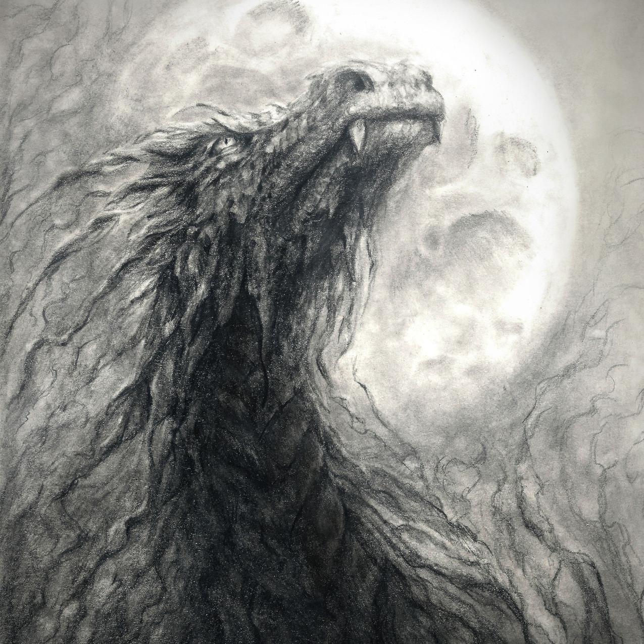 Thijs as a dragon