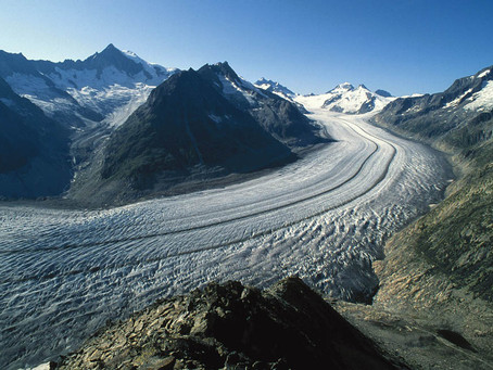 Building your world: glaciers