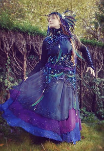 constellation star dress