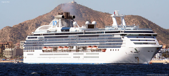 Phil's favourite ship-The Coral Princess