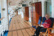Out on the Promenade Deck