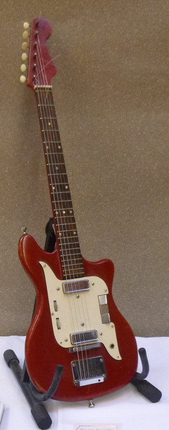 Phil's guitar from the 1960s