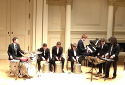 Percussion Ensemble at Carnegie Hall