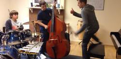 Coaching youth jazz ensemble