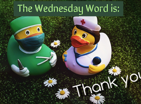 The Wednesday Word is: THANK YOU