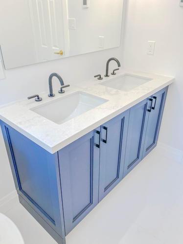 custom double sink