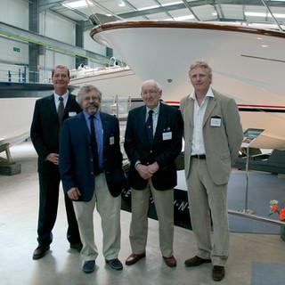 Supermarine launch with Ken Freivokh, Alan Burnard and Steve Curtis