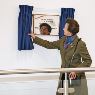 HRH opening the New Southerly Factory in 2010