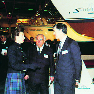 Princess Anne at London Boat Show