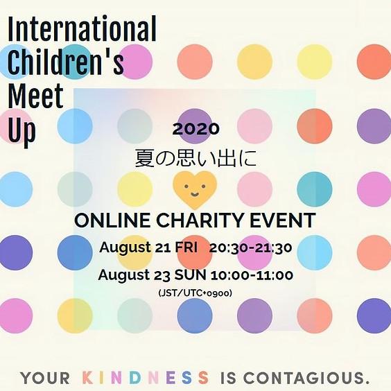 International Children's Meet Up - Online Event -