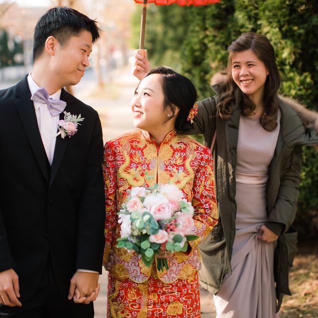 Iris's Wedding, Dec. 2017