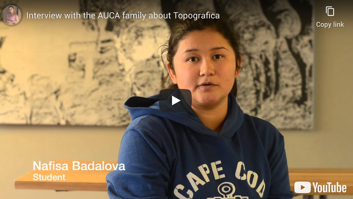 AUCA Students About Topografica
