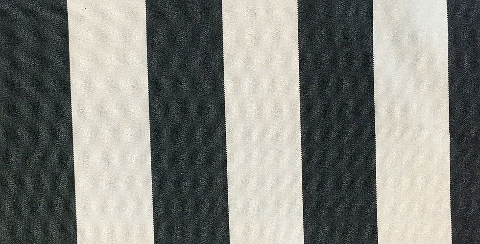 Black and Cream Awing Stripe