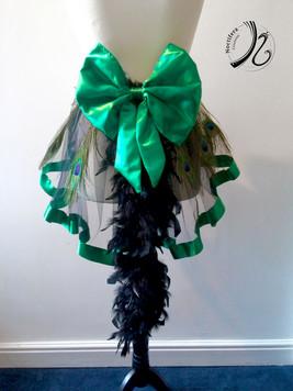 Green based bustle