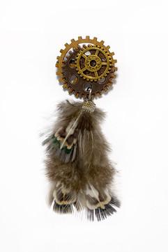 Feathery Wooden Cog Steampunk Medal.jpg