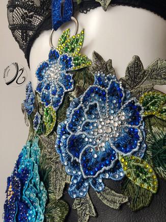 Close up of embellished detail