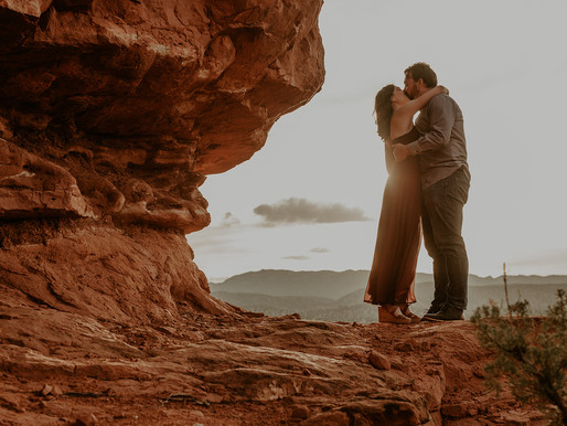 JEMEZ RED ROCKS ENGAGEMENT SESSION