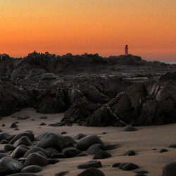 Baja Sunset Stones Way of Passage