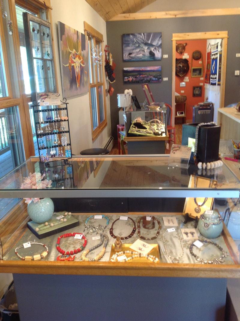 Display Case Crestone Artisans Gallery