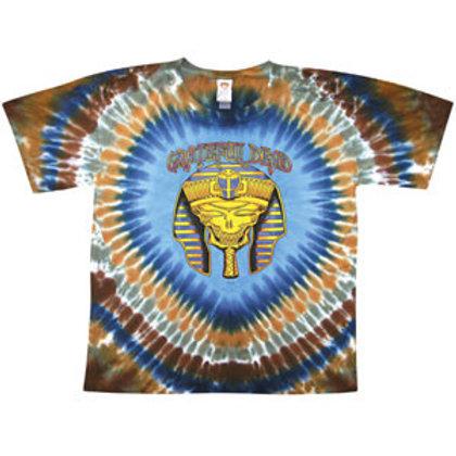 Grateful Dead T-Shirt-Pharaoh-Blue-by Not Fade Away
